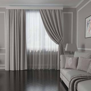 Красивые шторы в гостиную: как подобрать практичные занавеси