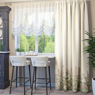 Как правильно подобрать шторы на кухню