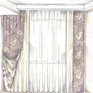 Дизайн и пошив штор от компании Спэйси