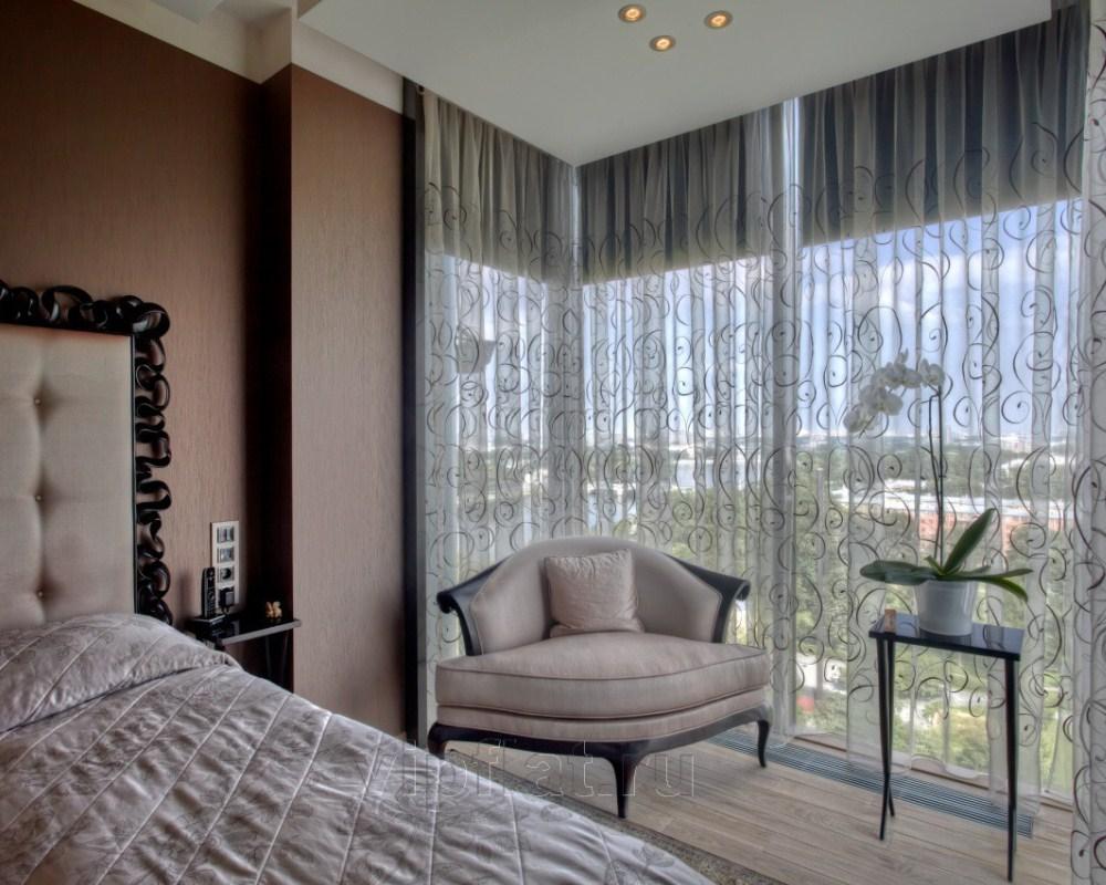 шторы на панорамные окна это удобно недорого и просто