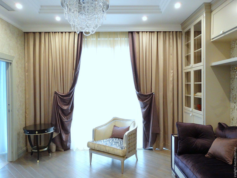 шторы в зал на одно окно в картинках проект первый шаг